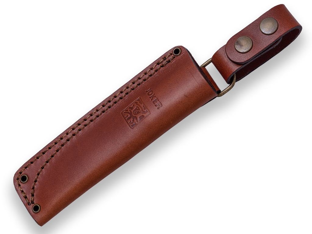 CUCHILLO BUSHCRAFT Y SUPERVIVENCIA JOKER EMBER SCANDI EN NOGAL Cuchillo de Bushcraft JOKER EMBER SCANDI Nogal