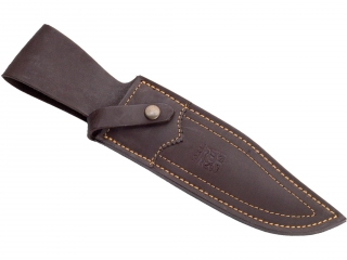 STAG HORN CROWN BOWIE KNIFE 16 CM STAINLESS STEEL BLADE LENGTH.